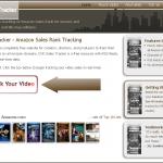 Amazon DVD Sales Rank Tracker