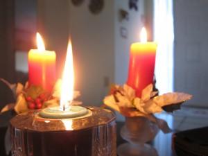 Christmas Candles 2010